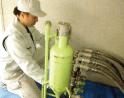 給水管工事・更生工事のトーヨー興産株式会社の研磨